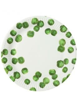 Botanical Sprout Party Paper Plates