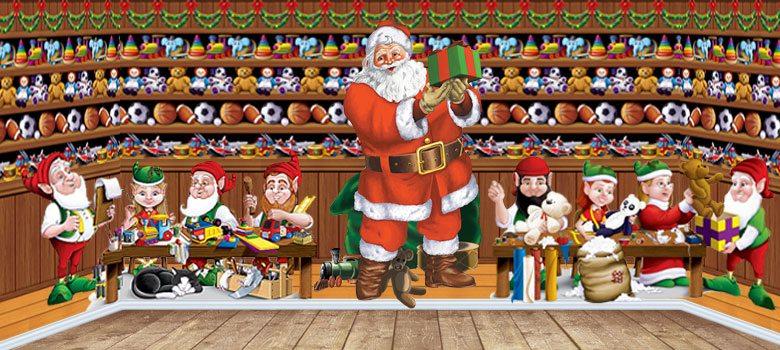 Christmas Scene Setters For Santa Grottos Schools Amp Nurseries
