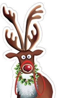 Christmas Cardboard Cutouts