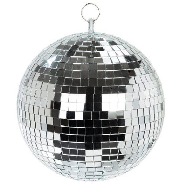 Disco Ball Decoration: Glitterati Disco Ball Hanging Decoration