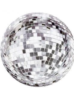 Glitterati Party Disco Ball Plates