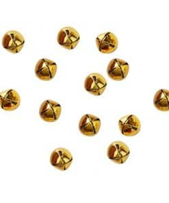 Merry & Bright Christmas Party Gold Bell Confetti