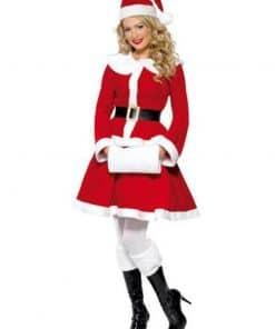Miss Santa Adult Costume