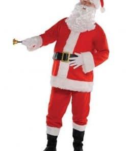 Plush Santa Suit