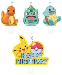 Pokémon Birthday Candles