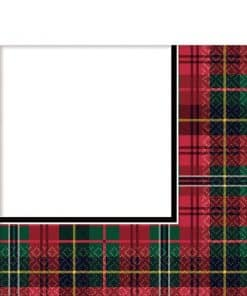 Tartan Party Paper Napkins