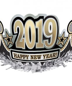 2019 Happy New Year Foil Crown