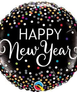 Confetti New Year Balloon