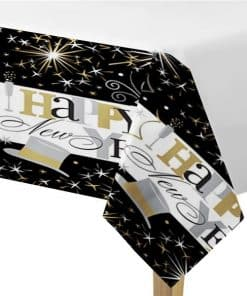 New Years Eve Elegant Celebration Paper Tablecover