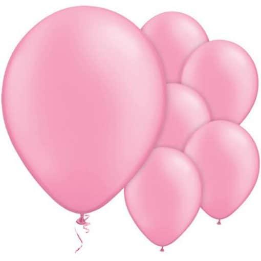 Neon Pink Latex Balloons