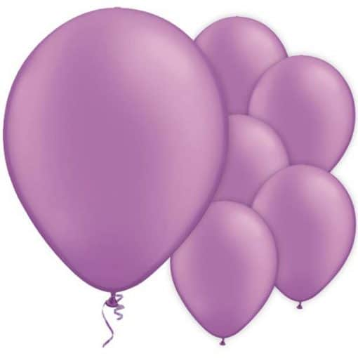 Neon Violet Latex Balloons