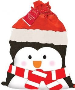 Penguin Christmas Sack