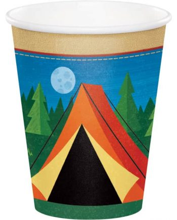Camp Out Party Paper Cups