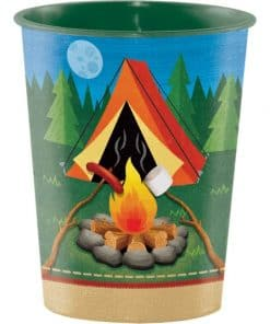 Camp Out Party Plastic Favour Cup