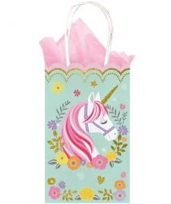 Magical Unicorn Party Glittery Paper Party Bags