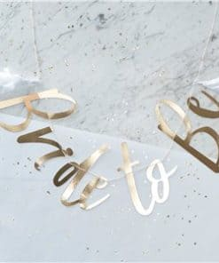 I Do Crew - Gold Foiled Bride To Be Banner