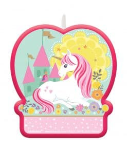 Magical Unicorn Party Unicorn Candle