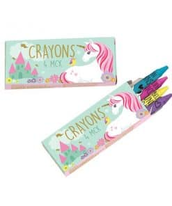 Magical Unicorn Party Bag Fillers - Crayons