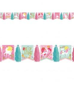 Magical Unicorn Tassel Garland