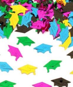 Mini Graduation Hat Confetti