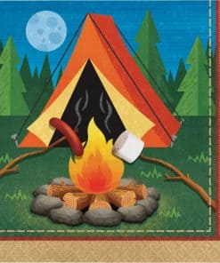Camp Out Party Paper Napkins