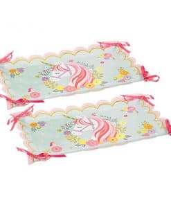 Magical Unicorn Party Paper Serving Trays