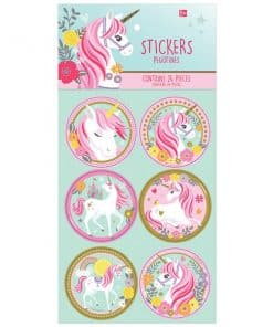 Magical Unicorn Party Bag Fillers - Stickers