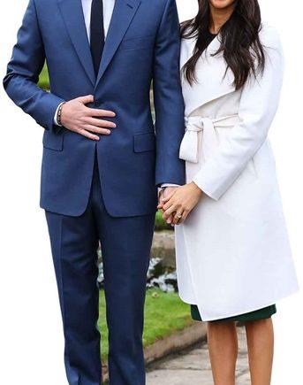 Prince Harry & Meghan Markle Lifesize Cardboard Cutout