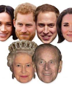 Royal Family Celebrity Mask Pack