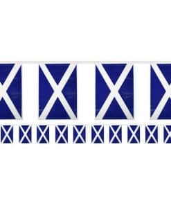 Scottish Flag Plastic Bunting