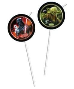 Star Wars Plastic Drinking Straws