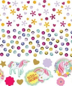 Magical Unicorn Party Table Confetti