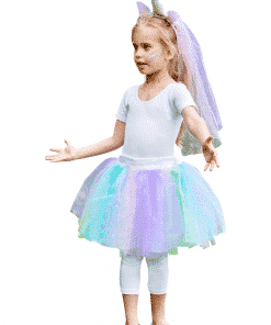 Tutu Unicorn Child Fancy Dress Set