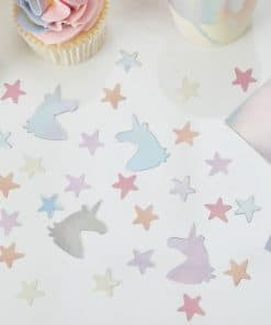 Make A Wish Unicorn Party Table Confetti