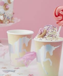 Make A Wish Unicorn Party Paper Cups