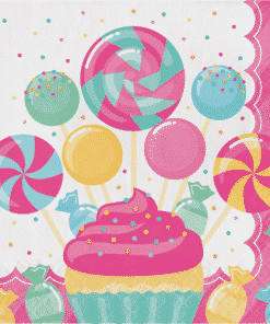 Candy Party Paper Napkins