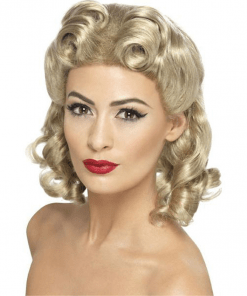 Blonde 40's Sweetheart Adult Wig