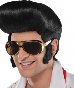 50s Classic Elvis King Wig Adult Wig