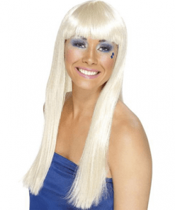 70's Dancing Queen Blonde Adult Wig
