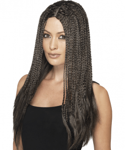 90's Braid Black Adult Wig