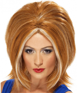 90's Ginger Power Auburn Adult Wig