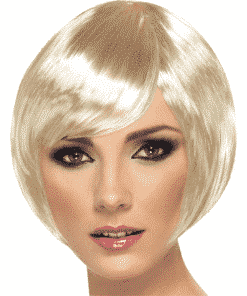 Babe Bob Adult Blonde Wig