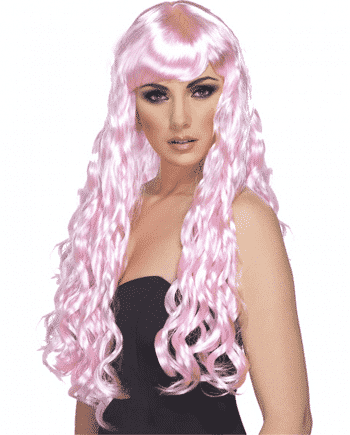 Desire Long Curly Wig - Candy Pink
