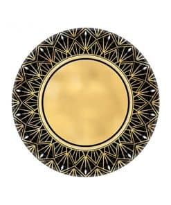 Hollywood Party Metallic Paper Plate