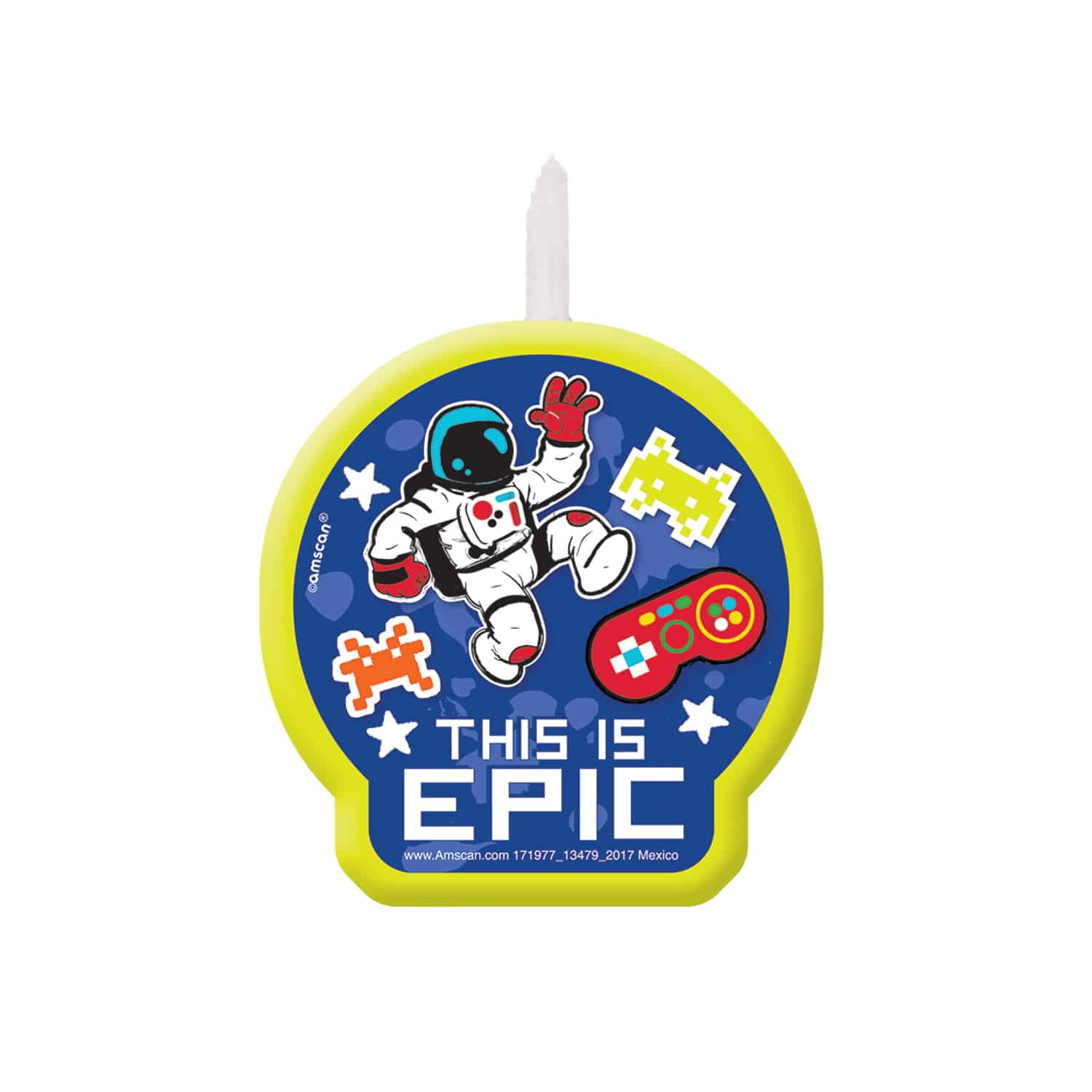Buy Epic Party Birthday Cake Candle
