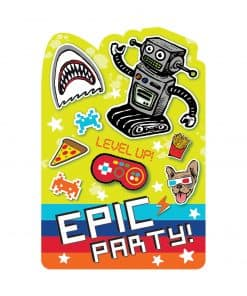 Epic Party Postcard Invitations