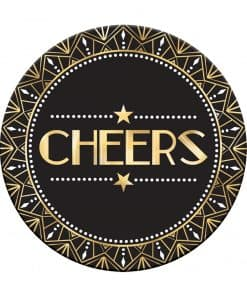 Hollywood Party 'Cheers' Cardboard Drink Mats