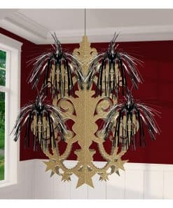 Hollywood Party Chandelier Hanging Decoration