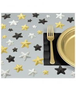 Hollywood Party Glitter Star Table Confetti Sprinkles