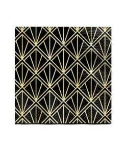 Hollywood Party Metallic Paper Beverage Napkins